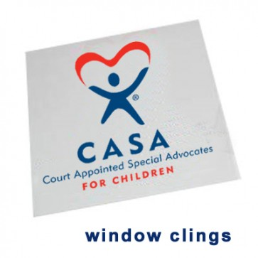 CASA Window Cling Decal