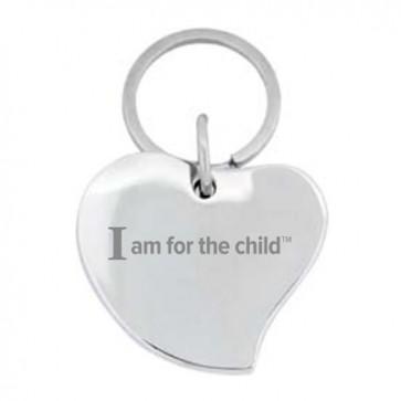 Silver Heart Key Chain/Charm