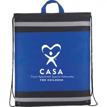 CASA Drawstring Cinch Backpack #3