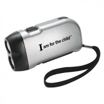 IAFTC Hand-Crank Flashlight