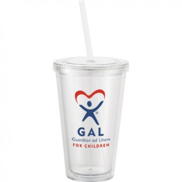 GAL 2-color 2-sides Insulated Tumbler