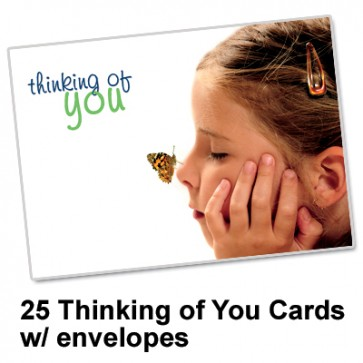 Thinking of You Card  (25 per set) Spread the Word TM