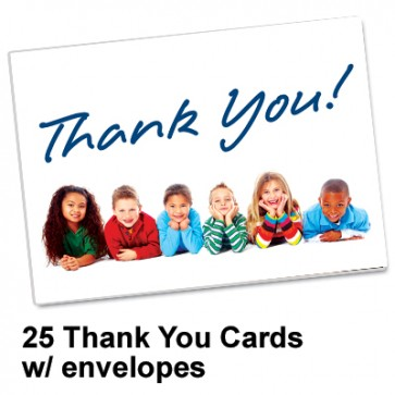 Thank You Card Spread the Word  TM
