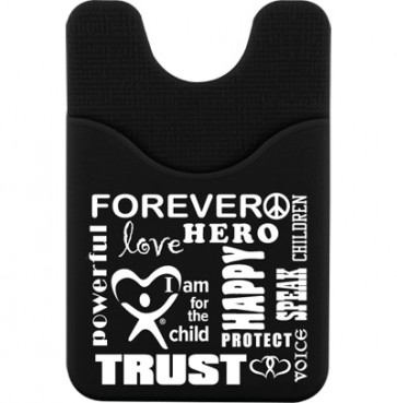 More Than Words Cell Phone Wallet