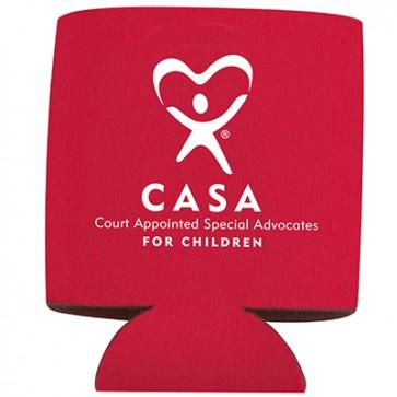 CASA Can Coolers Custom Logo