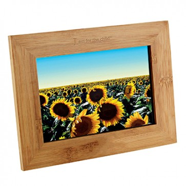 IAFCT Bamboo Photo Frame