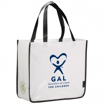 GAL - Large Laminated Shopping Tote