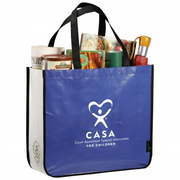 CASA - Large Laminated Shopping Tote