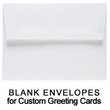 25 Blank Greeting Card Envelopes (5 1/2 x 7 1/2)