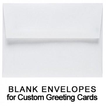 25 Blank Greeting Card Envelopes (5 1/2 x 7 1/2)