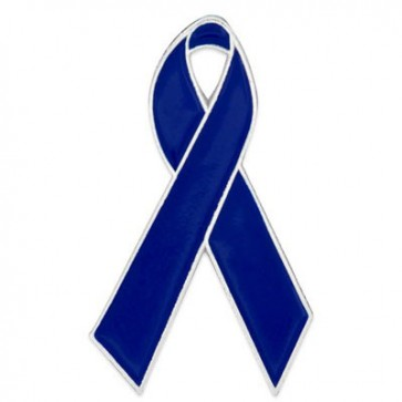 Child Abuse Prevention Ribbon Lapel Pin