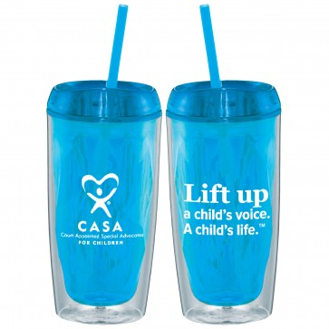 CASA Lift Up Geometric Tumbler 16 OZ
