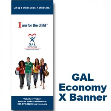 GAL Teens- X-Banner 63 X 24
