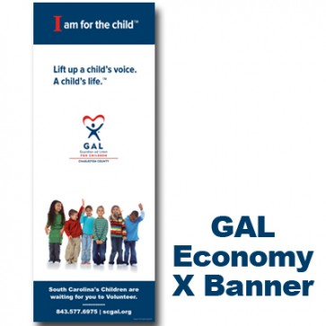 GAL Young Kids - X-Banner 63 X 24