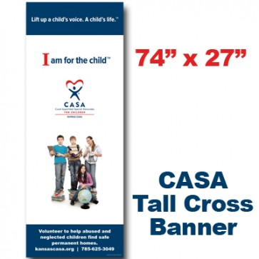 Middle School Kids Cross Banner  (74x27)