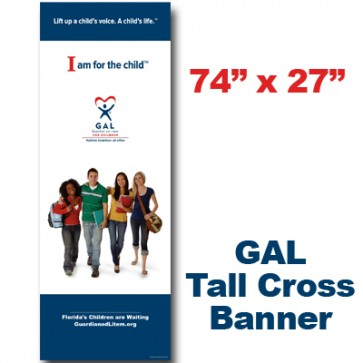 GAL Teens Cross Banner (74x27)