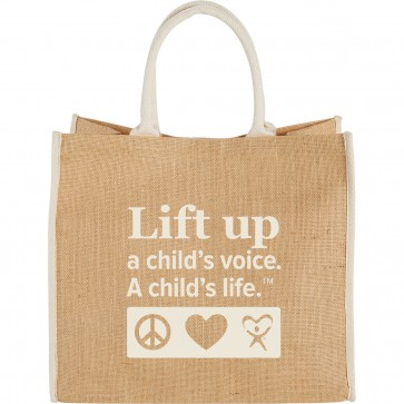 Lift Up Jute Tote