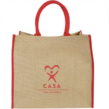 CASA Lift Up Jute Tote - Cream, Navy and Black are on Backorder until 8/5/19