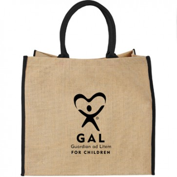 GAL Lift Up Jute Tote