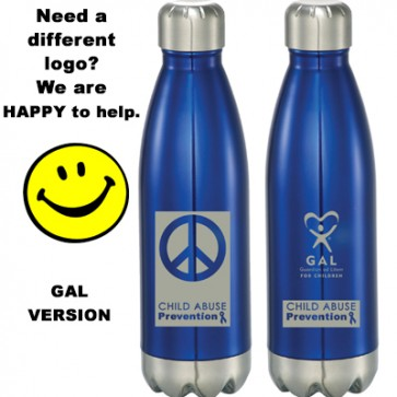 Child Abuse Awareness GAL Concord 17 oz Vacuum Bottle