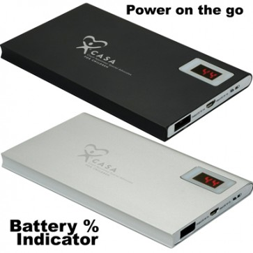 CASA RAV Power Bank with Power Check - Black Back Ordered Until 11/6/19