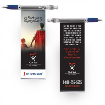 Super Hero Banner Pen (CASA or GAL Customizable)