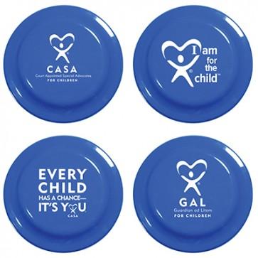 Blue Frisbee 7 1/4 (Min Qty 125)