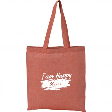 I AM HAPPY - CASA Recycled 5oz Cotton Twill Tote