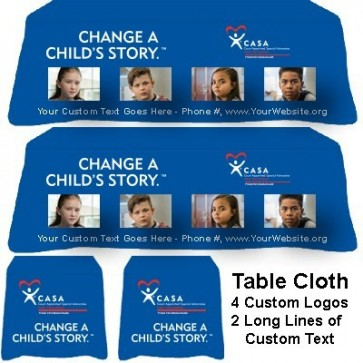 Tablecloth - Change a Child's Story (CASA/Guardian ad Litem/GAL)