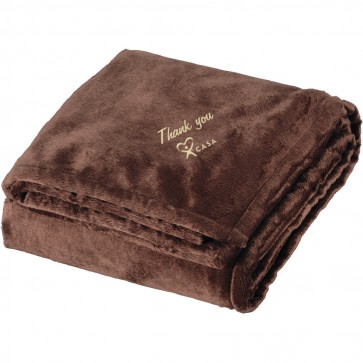 Brown Sherpa Home Throw/Blanket - (while supplies last)