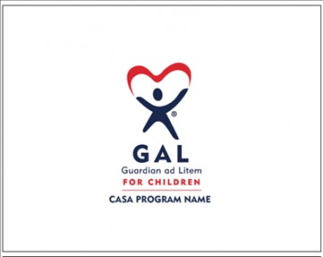 GAL Custom 2 color Note Card