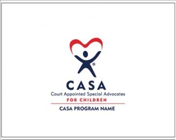 CASA Custom 2 color Note Card