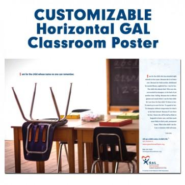 Customized Horizontal Poster (GAL - Classroom)
