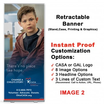 Change A Child's Story ™ Retractable Banner