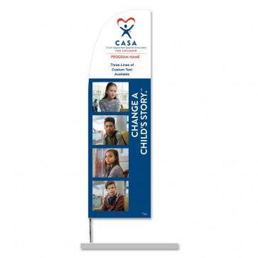Change a Child's Story Feather Banner