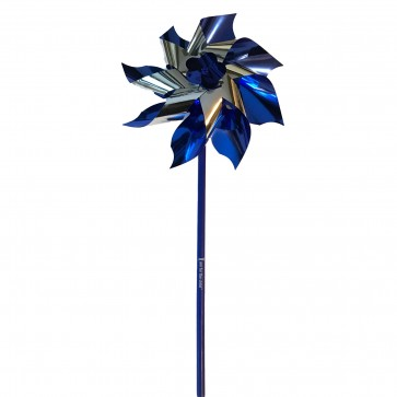 Large Blue Awareness Pinwheel