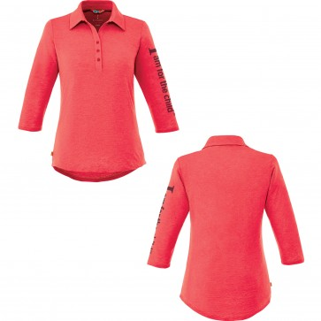 Titan Ladies 3/4 sleeve & Men's short sleeve vintage polo