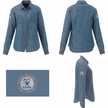 Sheen Denim Shirt