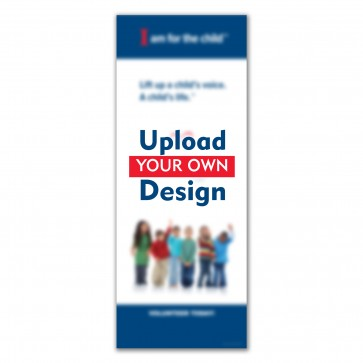 Custom Upload Economy Banner (Stand & Case)