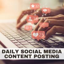 Social Media Miracle: Daily Social Media Content Posting