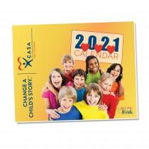 2021 CASA or GAL More Than Words™ Calendar (Customizable)