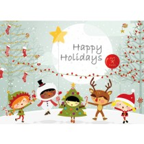 Happy Holidays Cards  (25 per set) Spread the Word TM