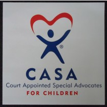 Large CASA stickers