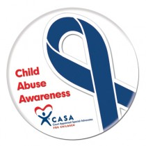 Big Awareness Ribbon Button
