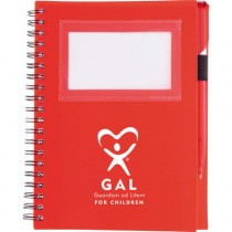 GAL Spiral Notebook #1 with pen