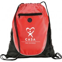 CASA Cinch Backpack #2 with earbud port