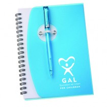 GAL Spiral Notebook #4 with pen