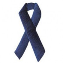 Child Abuse Awareness Ribbon Applique (Brand Your Mask)