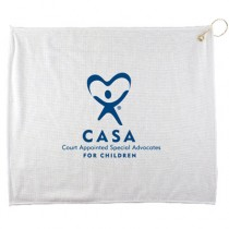 15 x18 Polyester Blend White Towel