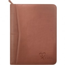 CASA Soft Zippered Padfolio